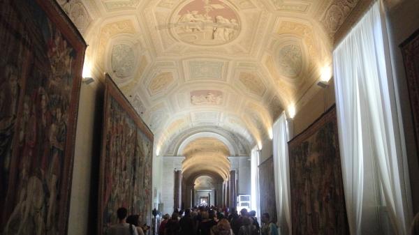 Vatican hallway