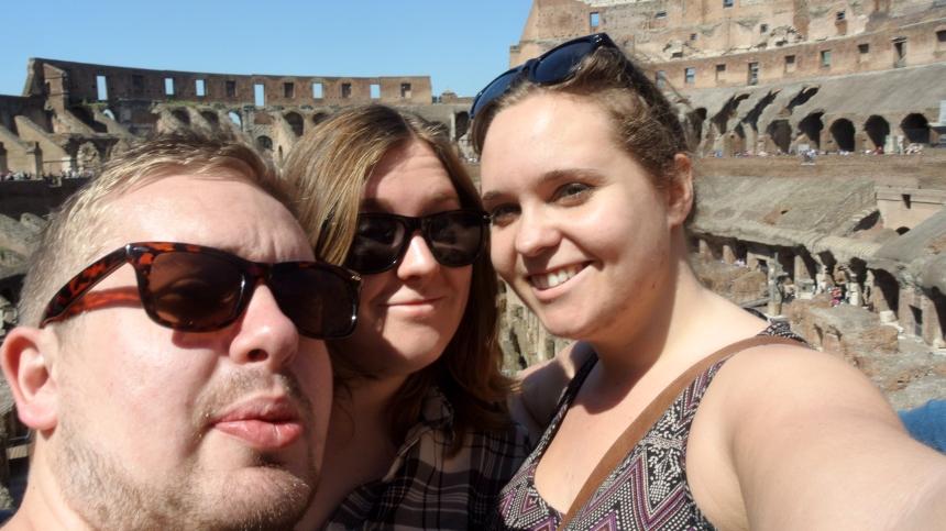 Colosseum selfie