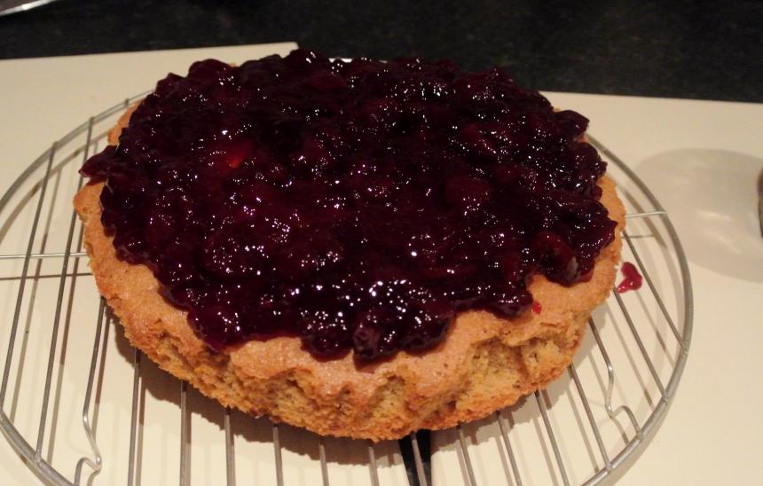 Cherry Bakewell Cake (24)