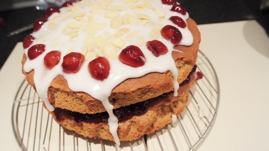Cherry Bakewell Cake (31)