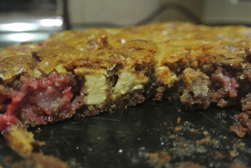 Raspberry Marble Brownies (28)