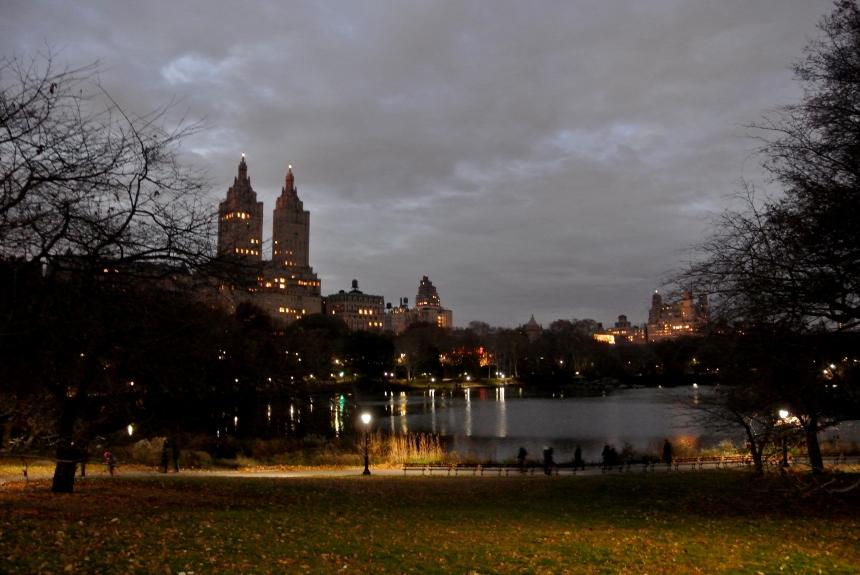 Central Park Sun Set
