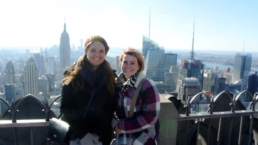 Rachel and Sharni New York