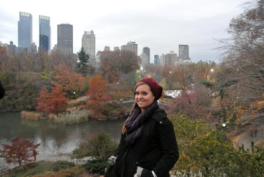 Rachel in Central Park
