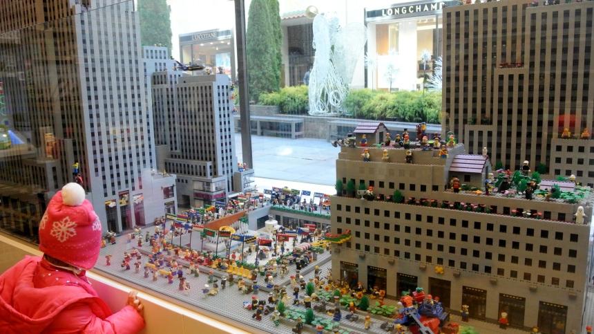 Rockefeller Centre Lego